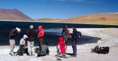 Aguas Calientes Salt Flat and Tuyajto