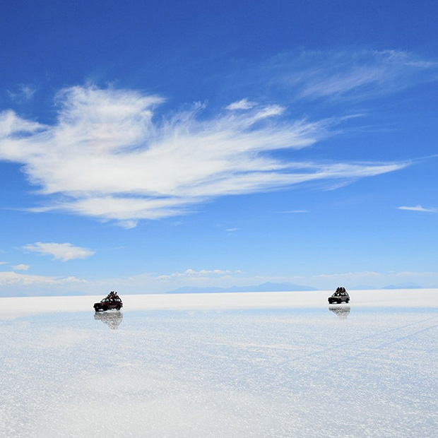 Economic Uyuni Salt Flat