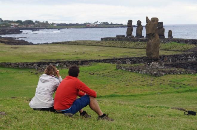 Fantasy in Easter Island