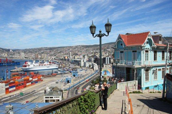 Valpara so e vi a del mar tours chile viagens e turismo for Ciudad santiago villas