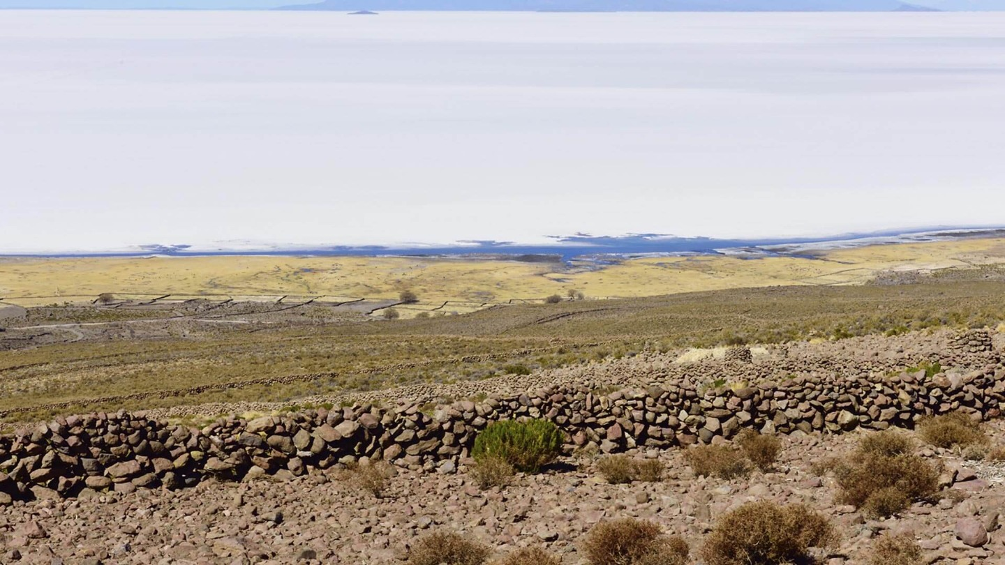 A Glimpse of the Uyuni Salt Flat Express