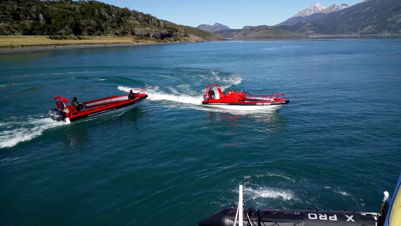 Sailing to Torres del Paine National Park