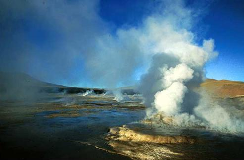 Tatio Geysers and Machuca