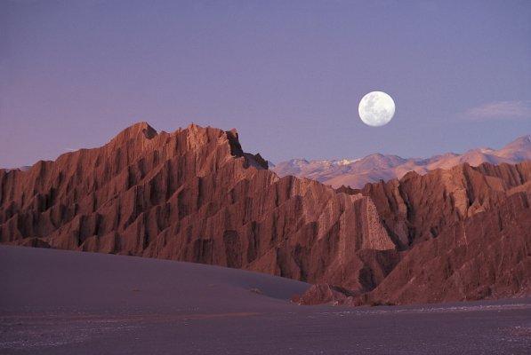 Vale da Lua e Vale da Morte