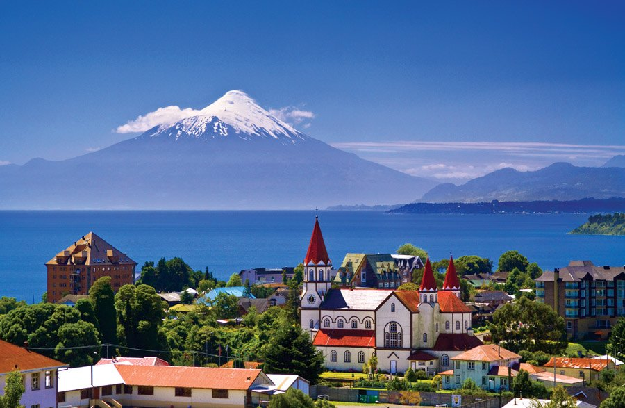 Image result for Mt. Osorno. Puerto Montt
