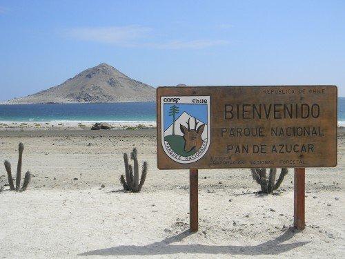 Bahía Inglesa e Parque Nacional Pan de Azúcar