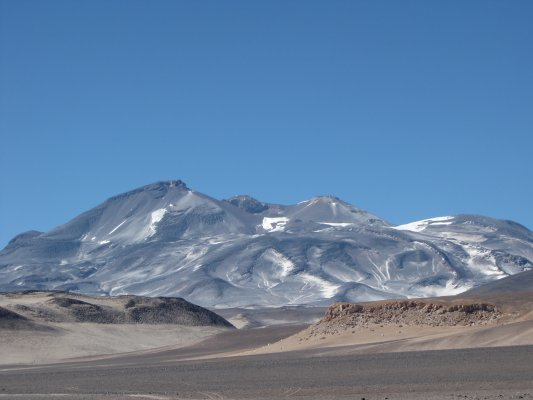 Copiapo and Ojos del Salado Volcano