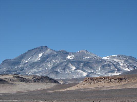 Copiapo and Ojos del Salado Volcano