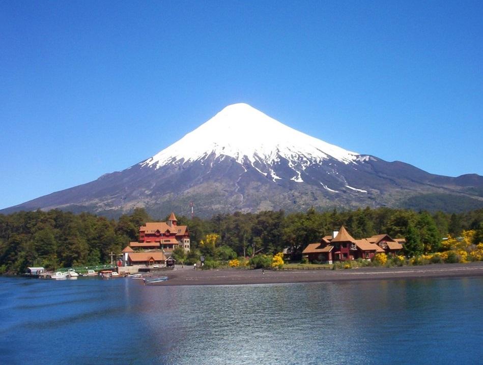 Santiago, Valparaíso, Lagos, Bariloche y Buenos Aires