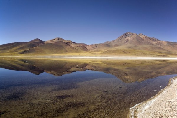 Lagunas Miscanti y Miñiques
