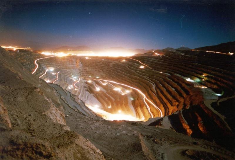 Mina de Chuquicamata, Chile