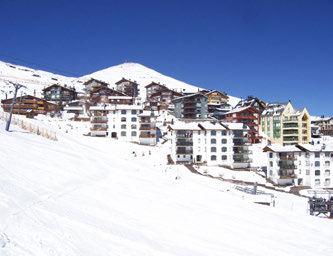 Tour Familiar de Ski en Valle Nevado, El Colorado y La Parva