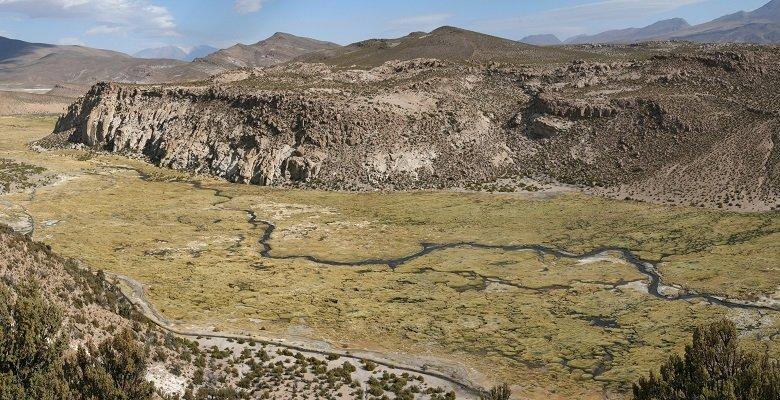Isluga Volcano National Park