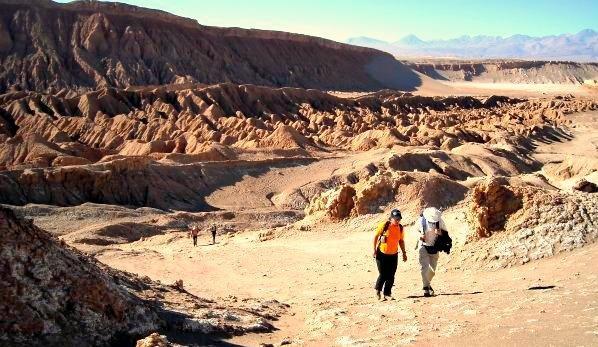 Trekking Valle de la Luna