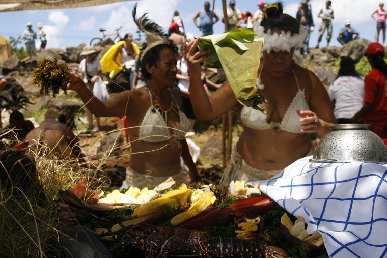 Isla de Pascua - Fiesta Tapati 2014
