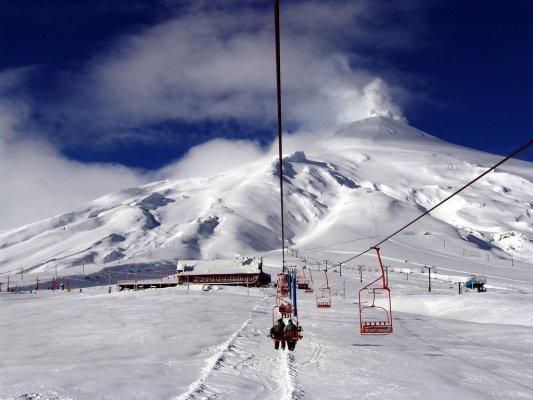 Centro de Esquí Volcán Villarrica