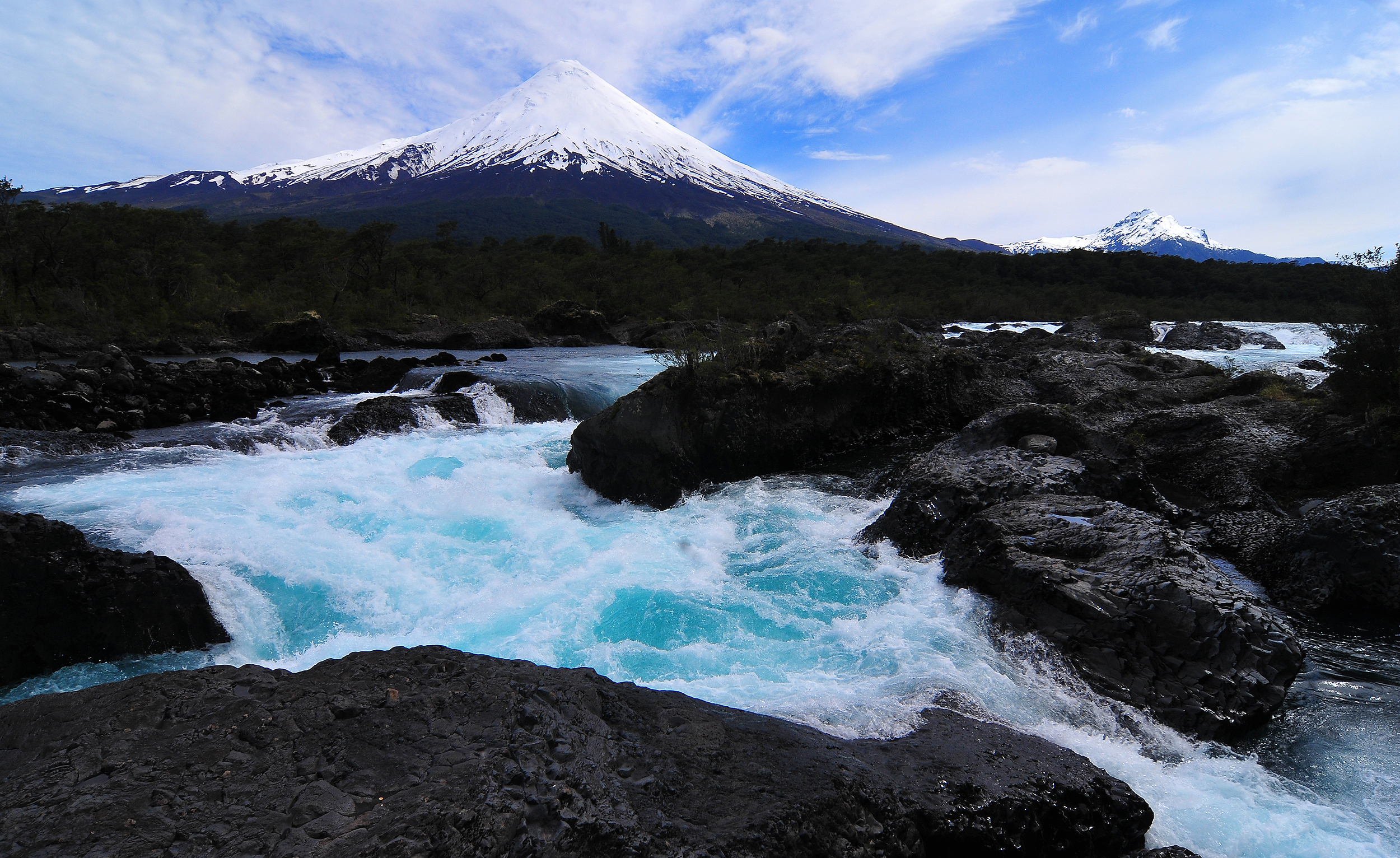 vicente perez rosales national park  chile