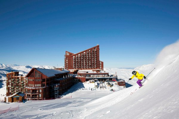 Centro de Esqui Valle Nevado