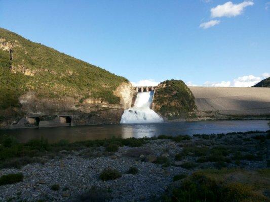 Colbun Dam