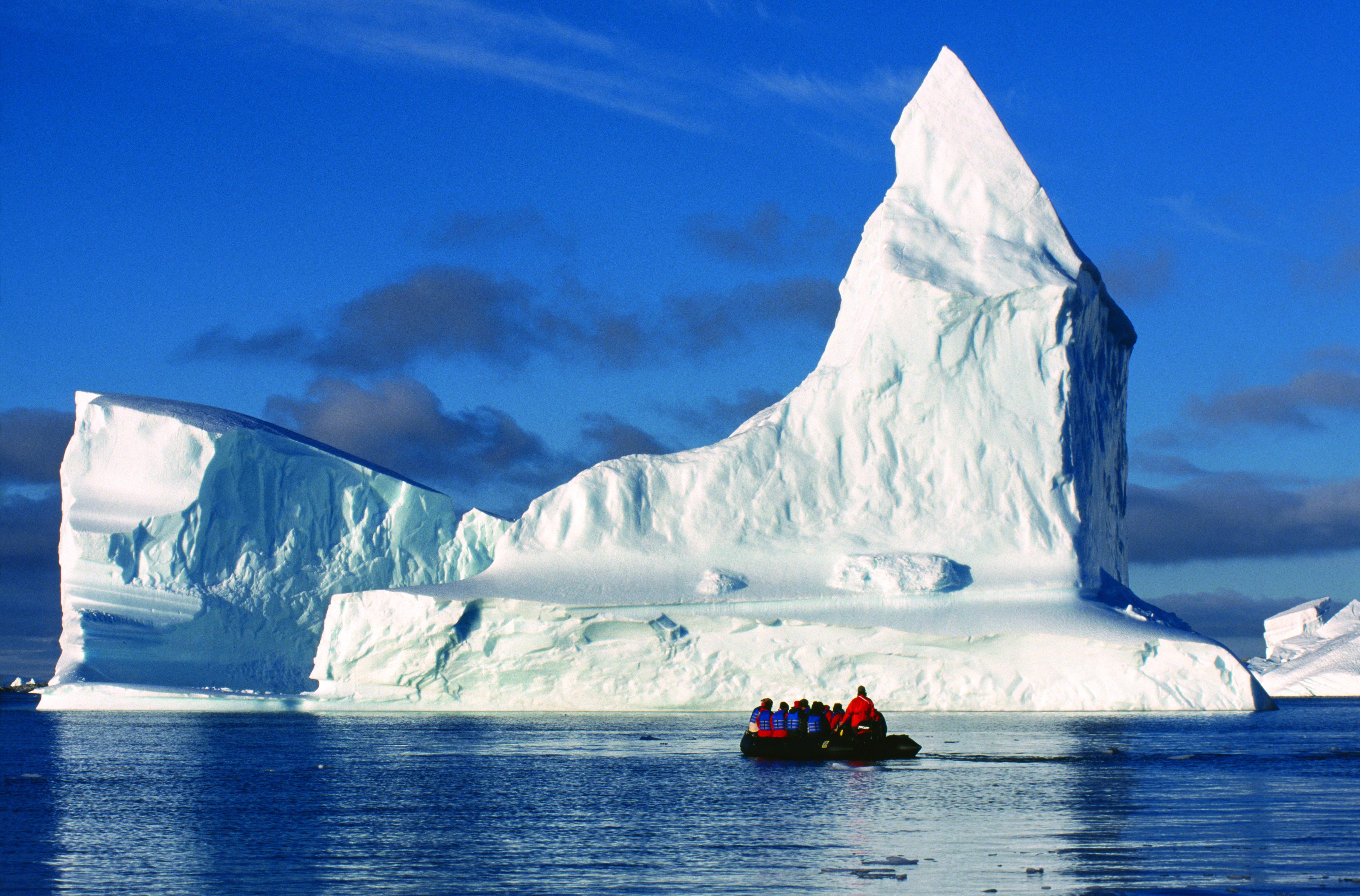 Península Antártica e Islas Shetlands del Sur