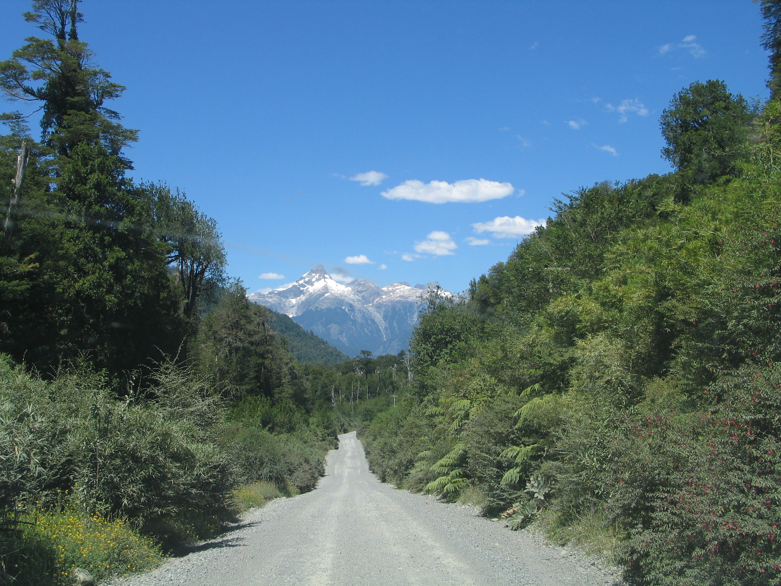 Carretera Austral, Selfdrive in the Highway