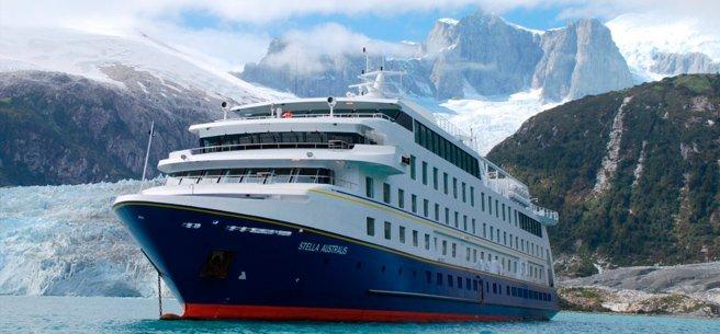 Crucero Stella Australis / Ushuaia - Punta Arenas