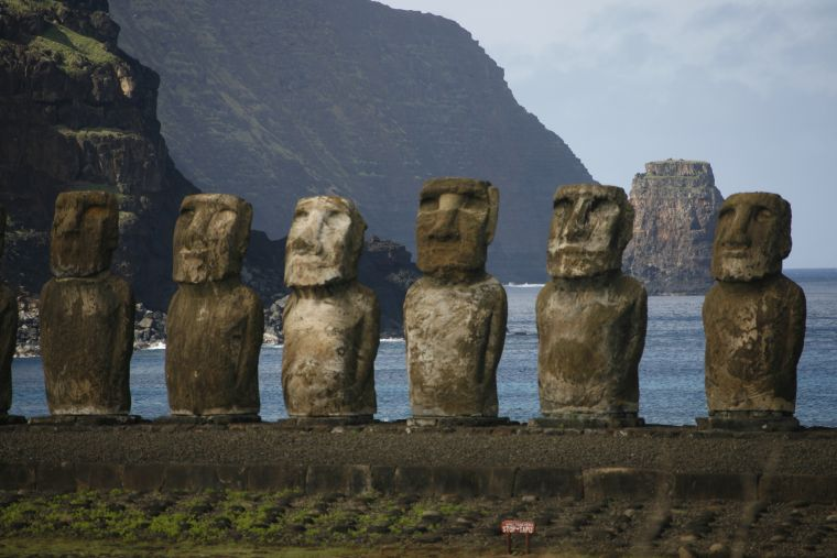 Fantasy in Easter Island