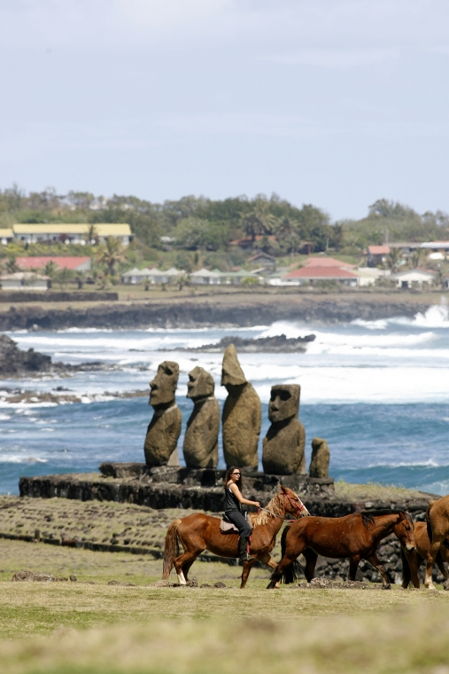 Adventure in Easter Island